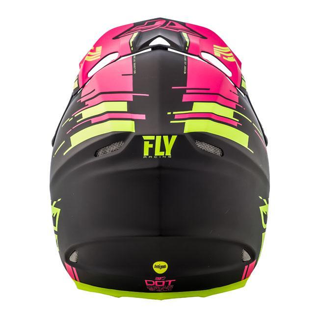 Fly F-2 Helmet Mps Fg Matt Neon Pink / Hi-Vis AMX - Image 3
