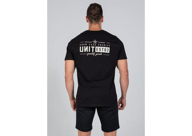 UNIT MENS ASSIGN TEE BLACK AMX - Image 3