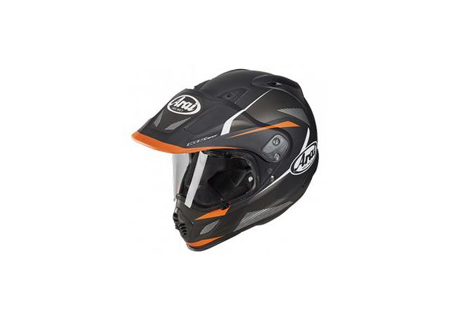 Arai XD-4 Break Helmet Orange AMX - Image 1