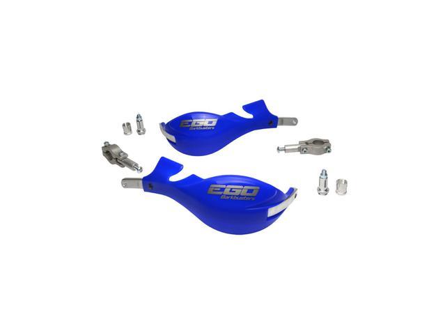 Barkbuster Ego 7/8 (22mm) Clamps Blue AMX - Image 1