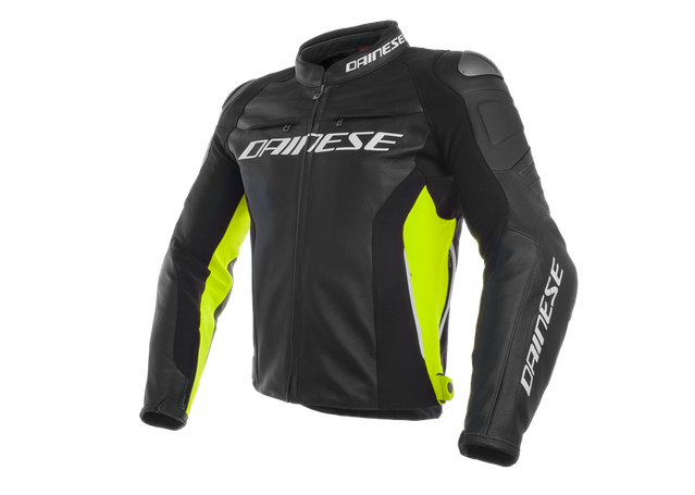 Dainese Racing 3 Leather Jkt AMX - Image 1