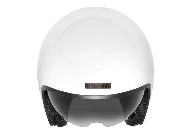 DRIRIDER HIGHWAY HELMET WHITE AMX - Image 3