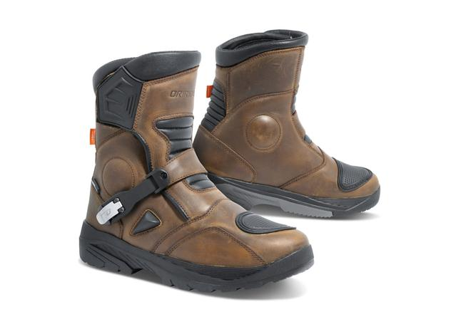 DRIRIDER ADVENTURE BOOT - C2 BROWN AMX - Image 1