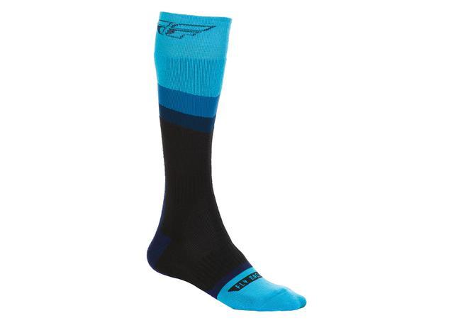 Fly Socks Mx Thick Blue / Black AMX - Image 1