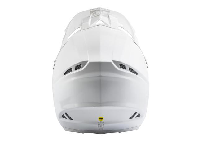 Fly F-2 Helmet 2019 Solid White AMX - Image 3