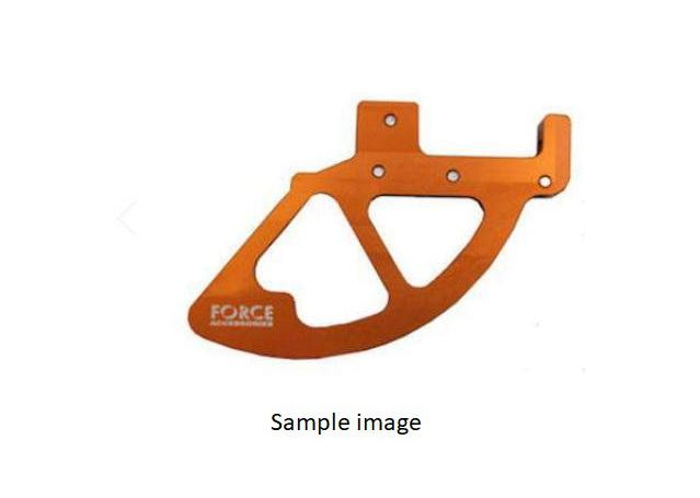 FORCE Orange Front Disc Guard Fits KTM ALL 125+ '15 – '20 AMX - Image 1