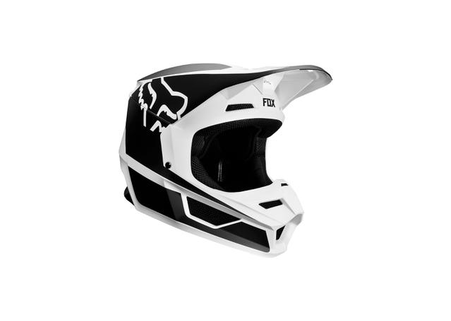 FOX Youth V1 Przm Helmet Black White 2019 AMX - Image 1