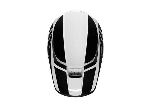 FOX Youth V1 Przm Helmet Black White 2019 AMX - Image 3