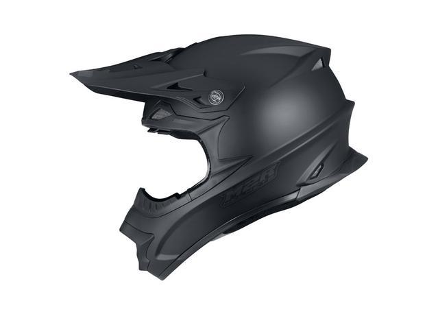 M2R Exo Helmet Matt Black AMX - Image 2