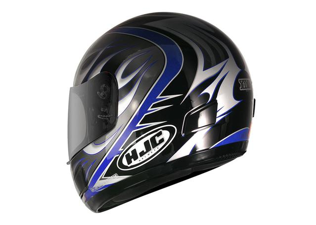 HJC CS-12N Helmet Session Blue MC2 AMX - Image 2