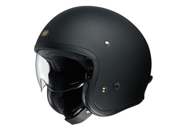 Shoei J.O Helmet Matt Black AMX - Image 1