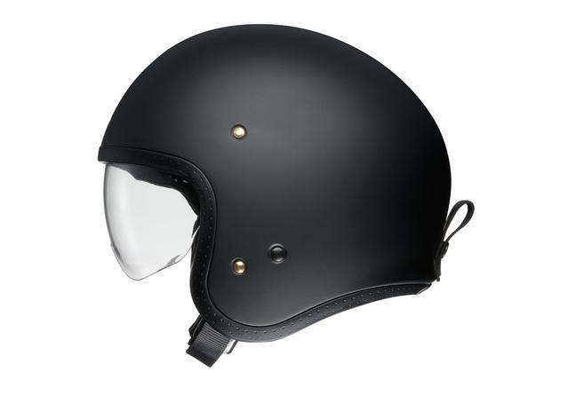 Shoei J.O Helmet Matt Black AMX - Image 3