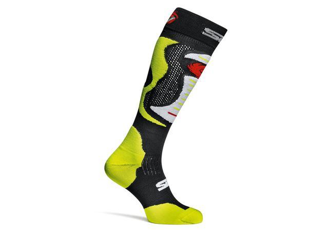 SIDI Faenza Technical Socks Fluro Yellow AMX - Image 1