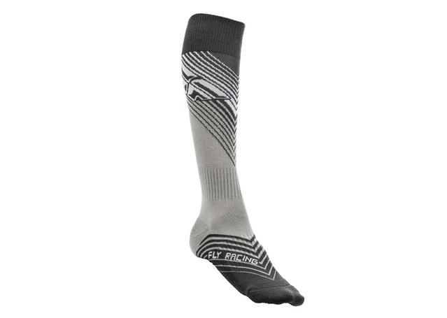 Fly Socks Mx Thin Black / White AMX - Image 1
