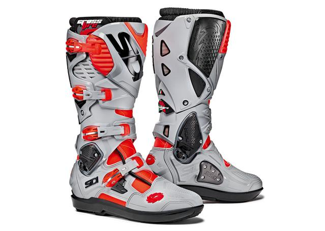 SIDI Crossfire 3 SRS Red Fluro / Ash AMX - Image 1