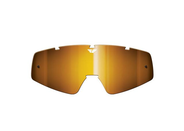 Fly Zone & Focus Replacement Lens Chrome Amber AMX - Image 1