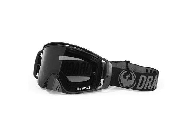 Dragon Goggle Nfx2 Black Injected AMX - Image 1