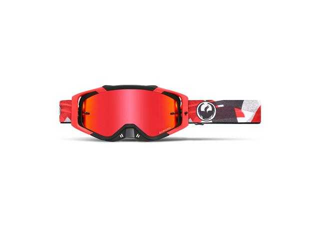 Dragon Goggle Mxv Max Collage / Ll Red Ion + Clear AMX - Image 1