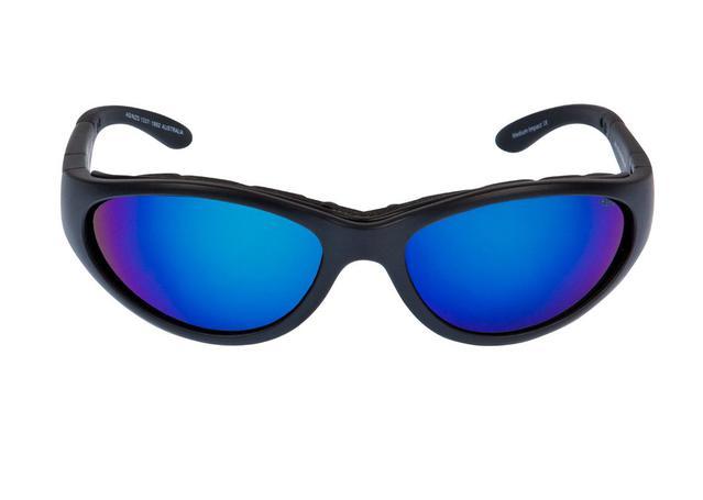 Ugly Fish Glide Matt Black Frame, Blue Revo Lens AMX - Image 2