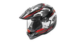Arai XD-4 Depart Helmet Grey Red