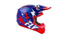 Fly Kinetic Helmet Shkd Blue / Red