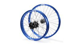 JTR Speedway Blue Rims / Black Hubs Wheel Set